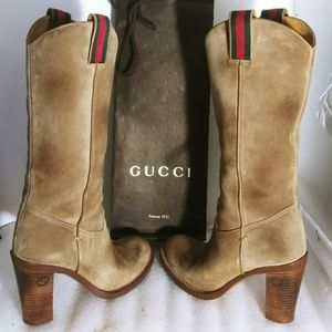 💯Authentic Gucci boot 👢